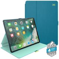 "Speck Balance Folio - Etui iPad 9.7"" (2017) / iPad Pro 9.7"" / iPad Air 2 / iPad Air w/Magnet & Stand up (Breeze Blue/Citron Green)"