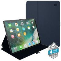 "Speck Balance Folio - Etui iPad 9.7"" (2017) / iPad Pro 9.7"" / iPad Air 2 / iPad Air w/Magnet & Stand up (Eclipse Blue/Carbon Black)"