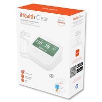 iHealth Clear Smart Wireless Arm Blood Pressure Monitor - Bezprzewodowy ciśnieniomierz naramienny z ekranem, funkcją porównania wyników i komendami głosowymi (WiFi / iOS / Android)