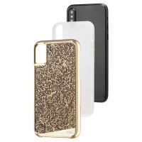 Case-mate Brilliance Tough - Etui iPhone X (Champagne)