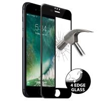 PURO Premium Full Edge Tempered Glass - Szkło ochronne hartowane na ekran iPhone 8 Plus / 7 Plus / 6s Plus / 6 Plus (czarna ramka)