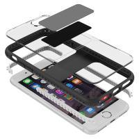 PURO Impact Pro Magnet Shield - Etui iPhone 8 / 7 / 6s / 6 kompatybilne z uchwytami magnetycznymi Puro (czarny)
