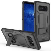 Zizo Hybrid Transformer Cover - Pancerne etui Samsung Galaxy Note 8 (2017) z podstawką (Black/Black)