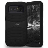 Zizo Ucase - Pancerne etui Samsung Galaxy Note 8 (2017) z podstawką (Black)