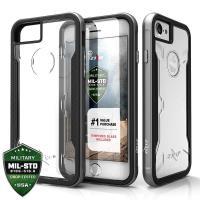 Zizo Shock Case - Etui iPhone 8 / 7 / 6s / 6 z hartowanym szkłem ochronnym na ekran (Gray)