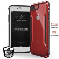 X-Doria Defense Shield - Etui aluminiowe iPhone 8 Plus / 7 Plus (Red)
