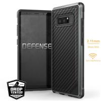 X-Doria Defense Lux - Etui aluminiowe Samsung Galaxy Note 8 (2017) (Black Carbon Fiber)