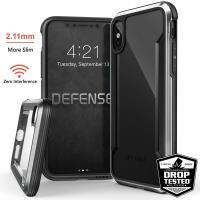 X-Doria Defense Shield - Etui iPhone X (Silver)