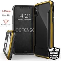 X-Doria Defense Shield - Etui aluminiowe iPhone X (Gold)