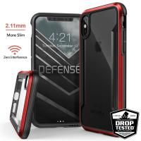 X-Doria Defense Shield - Etui aluminiowe iPhone X (Red)