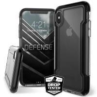 X-Doria Defense Clear - Etui iPhone X (Black)