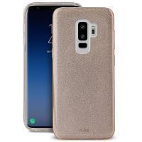 PURO Glitter Shine Cover - Etui Samsung Galaxy S9+ (Gold)