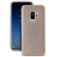 PURO Glitter Shine Cover - Etui Samsung Galaxy S9 (Gold)