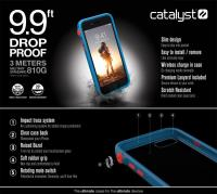 Catalyst Impact Protection Case - Pancerne etui iPhone 8 / 7 (Blueridge/Sunset)