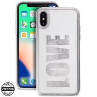Puro Aqua Love - Etui iPhone X (White)