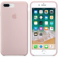 Apple Silicone Case - Silikonowe etui iPhone 8 Plus / 7 Plus (piaskowy róż)