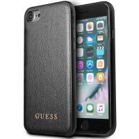 Guess Iridescent - Etui iPhone 8 / 7 (czarny)