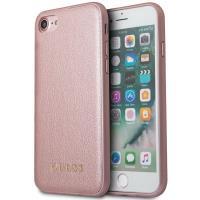 Guess Iridescent - Etui iPhone 8 / 7 (różowo złoty)