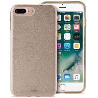 PURO Glitter Shine Cover - Etui iPhone 8 Plus / 7 Plus / 6s Plus / 6 Plus (Gold) Limited edition