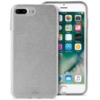 PURO Glitter Shine Cover - Etui iPhone 8 Plus / 7 Plus / 6s Plus / 6 Plus (Silver) Limited edition
