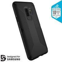 Speck Presidio Grip - Etui Samsung Galaxy S9+ (Black/Black)