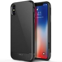 Obliq Flex Pro - Etui iPhone X (Carbon Black)