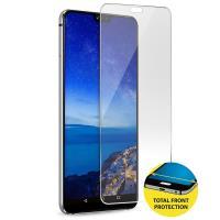PURO Total Tempered Glass - Szkło ochronne hartowane na cały ekran Huawei P20 Lite