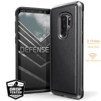 X-Doria Defense Lux - Etui aluminiowe Samsung Galaxy S9+ (Black Leather)