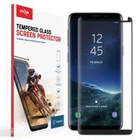 Zizo Full Edge to Edge - Szkło ochronne 9H na cały ekran Samsung Galaxy S9 (czarna ramka)