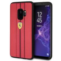 Ferrari Urban Hardcase - Etui Samsung Galaxy S9 (czerwony)