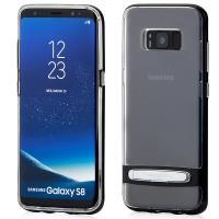 Mercury Dream Bumper - Etu Samsung Galaxy S9+ z metalową podstawką (czarny)