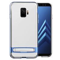 Mercury Dream Bumper - Etu Samsung Galaxy S9+ z metalową podstawką (koralowy niebieski)