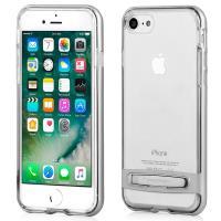 Mercury Dream Bumper - Etui iPhone 8 / 7 z metalową podstawką (srebrny)