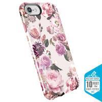 Speck Presidio Inked - Etui iPhone 8 / 7 / 6s / 6 (Lightpinkflowers/Parfait Pink)