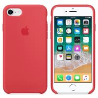 Apple Silicone Case - Silikonowe etui iPhone 8 / 7 (czerwona malina)