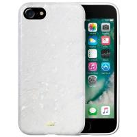 Laut POP PEARL - Etui iPhone 8 / 7 / 6s / 6 z 2 foliami na ekran w zestawie (Arctic Pearl)