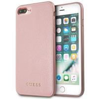 Guess Iridescent - Etui iPhone 8 Plus / 7 Plus (różowe złoto)