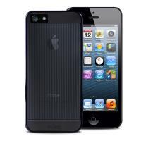 PURO Mirror Cover - Etui iPhone SE / iPhone 5s / iPhone 5 (czarny)