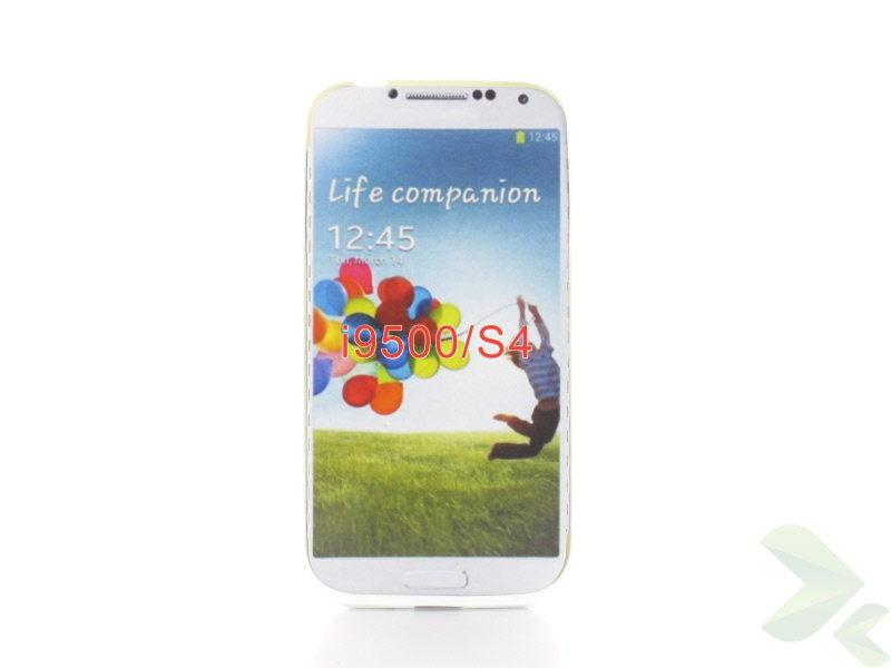 Geffy - Etui Samsung Galaxy S4 TPU solid color white