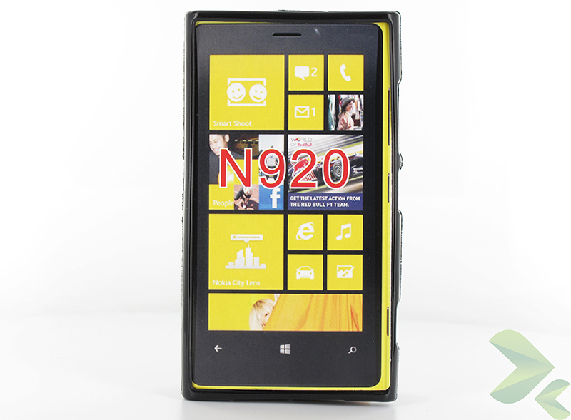 Geffy - Etui Nokia Lumia 920 TPU solid color black