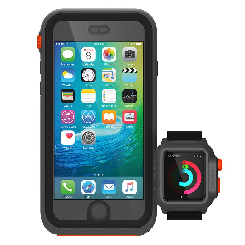 Catalyst Waterproof Case - Etui wodoszczelne + pasek Apple Watch 42 mm (Rescue Ranger)
