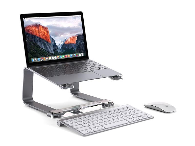 Griffin Elevator - Aluminiowy stojak pod laptopa (Space Gray)