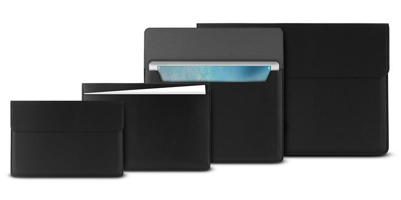"PURO Ultra Thin Sleeve - Etui Ultrabook 12"" / Macbook 12"" (czarny)"