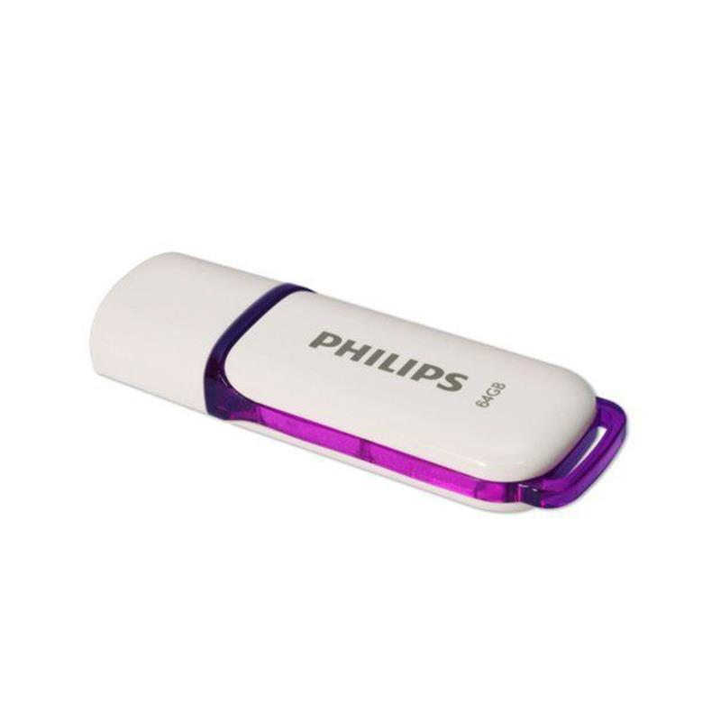 Philips Pendrive USB 2.0 64GB - Snow Edition (fioletowy)