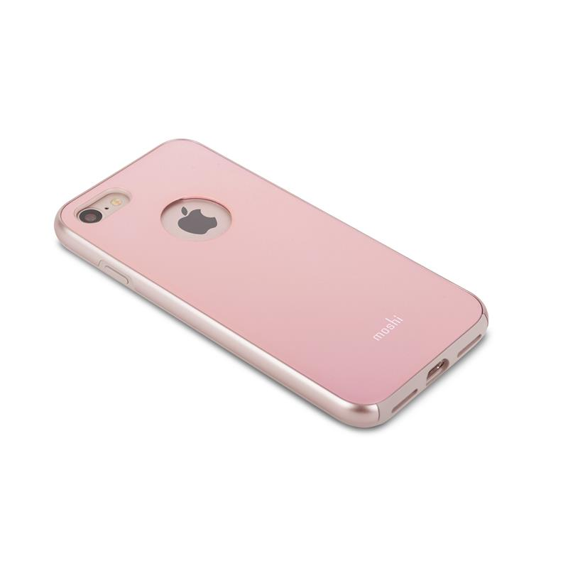 Moshi iGlaze - Etui iPhone 8 / 7 (Blush Pink)