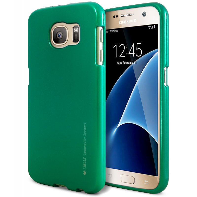 Mercury I-Jelly - Etui Samsung Galaxy S7 (zielony)