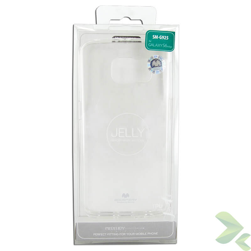 Mercury Transparent Jelly - Etui Samsung Galaxy S6 Edge (przezroczysty)
