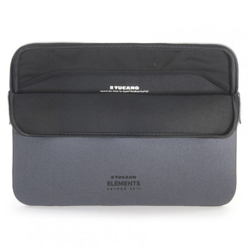 "TUCANO Elements - Pokrowiec MacBook Pro 13"" (2019/2018/2017/2016), Macbook Air 13"" Retina (2018) (Space Gray)"