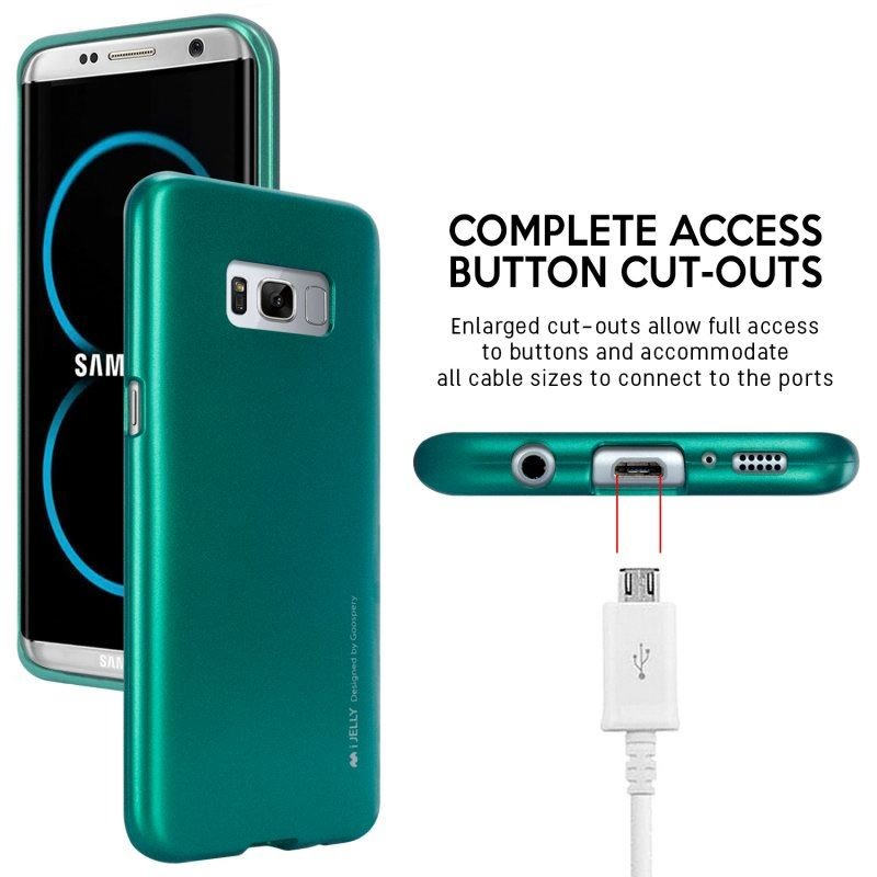 Mercury I-Jelly - Etui Samsung Galaxy S8 (zielony)