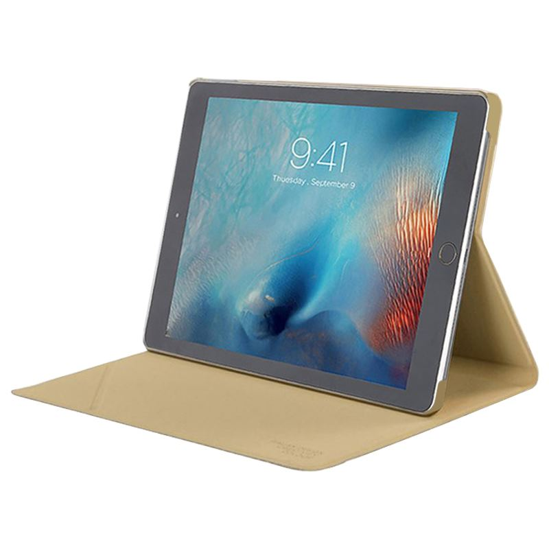 "TUCANO Minerale - Etui iPad Pro 10.5"" (2017) w/Magnet & Stand up (Gold)"